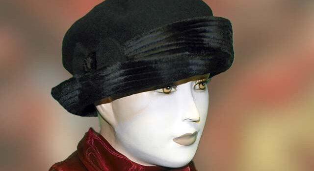Fekete női sapka - Kalapszalon kalapok sapkák nagy választékban Budapest 5b7c2d3918