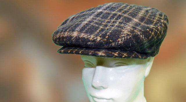 Férfi sapka barna kockás - Kalapszalon kalapok sapkák nagy ... 8d8e9020be
