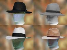 Férfi kalapok nagy választékban kaphatóak a Pázmányi kalapszalonban