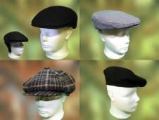 Férfi sapkák nagy választékban kaphatóak a Pázmányi kalapszalonban