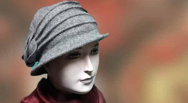 Szürke női kalapok sapkák - Kalapszalon kalapok sapkák nagy ... 23727573cf