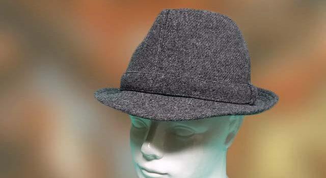 Szövet anyagú téli férfi kalap - Kalapszalon kalapok sapkák nagy ... 49bf340ebf